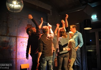 Ja!Theater Deventer improvisatie sfeerfoto yell